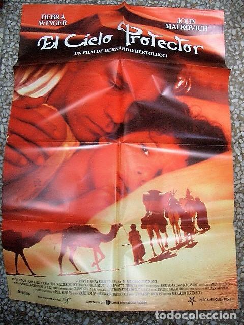 PÓSTER DE CINE ORIGINAL 70X100CM EL CIELO PROTECTOR (Cine- Posters y Carteles - Drama)