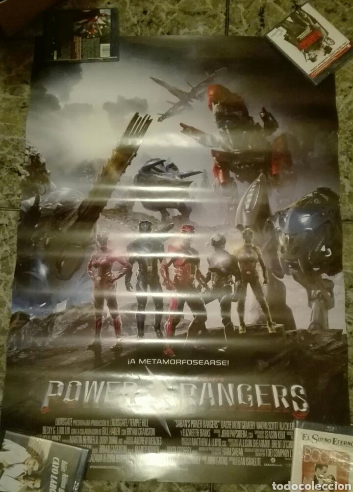 POSTER ORIGINAL POWER RANGERS 100X70 (Cine - Posters y Carteles - Ciencia Ficción)