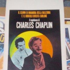 Cine: CHARLY CHAPLIN.CANDILEJAS.(1952). Lote 7791667