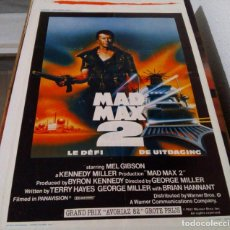 Cine: MEL GIBSON.MAD MAX 2.POSTER FRANCES.(1981). Lote 136163138