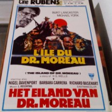 Cine: BURT LANCASTER.LA ISLA DEL DR. MOREAU.HET EILAND VAN DR.MOREAU.L´ILE DU DR.MOREAU.(1977). Lote 136163330