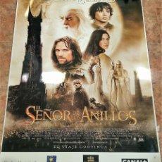 Cine: CARTEL PÓSTER MARQUESINAS EL SEÑOR DE LOS ANILLOS: LAS DOS TORRES 2002-119X175 CM. Lote 136171382