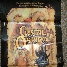 Cine: PÓSTER DE CINE ORIGINAL 70X100CM TRAS EL CRISTAL OSCURO. Lote 211745201