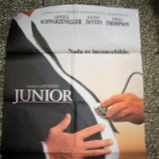 Cine: PÓSTER DE CINE ORIGINAL 70X100CM JUNIOR. Lote 136286598