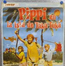 Cine: PIPPI EN LA ISLA DE TAKA - TUKA. AÑO 1975. PIPPI LANGSTRUMP SERIE TV. Lote 136553602