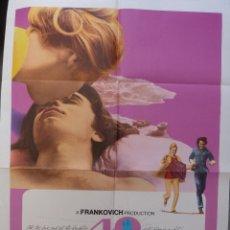Cine: POSTER DE LA PELÍCULA DE 40 CARATS , ORIGINAL, DOBLADO, 1973, LIV ULLMAN GENE KELLY. Lote 136682758