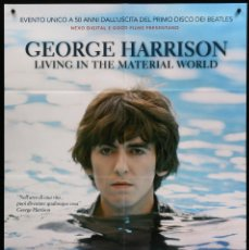 Cine: GEORGE HARRISON LIVING IN THE MATERIAL WORLD - 2011 - THE BEATLES - MARTIN SCORSESE - 99 X 140 CM. Lote 136684694