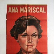 Cine: DE MUJER A MUJER CARTEL LITOGRAFICO ARGENTINO ORIGINAL ANA MARISCAL. Lote 136723658
