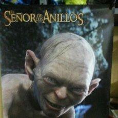 Cine: EL SEÑOR DE LOS ANILLOS ( GOLLUM ) 90CM X 64CM. Lote 136808118