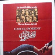 Cine: PÓSTER ORIGINAKL BETSY, 1978,USA, DOBLADO, ROBERT DUVALL TOMMY LEE JONES JANE ALEXANDER. Lote 136843094