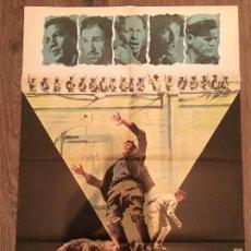 Cine: CARTEL DE CINE DEL ESTRENO DE LA PELÍCULA MOTÍN (1969). Lote 136847285