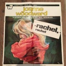 Cine: CARTEL DE CINE DEL ESTRENO DE LA PELÍCULA RACHEL, RACHEL (1968). Lote 136856824