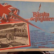 Cine: LA BATALLA DE INGLATERRA - HARRY ANDREWS - MICHAEL CAINE . TREVOR HOWARD - CURT JURGENS. Lote 136866038