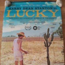 Cine: LUCKY - APROX 70X100 CARTEL ORIGINAL CINE (L61). Lote 136960118