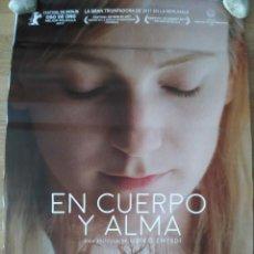 Cine: EN CUERPO Y ALMA - APROX 70X100 CARTEL ORIGINAL CINE (L61). Lote 136962162