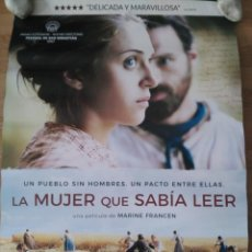 Cine: LA MUJER QUE SABÍA LEER - APROX 70X100 CARTEL ORIGINAL CINE (L61). Lote 136964730