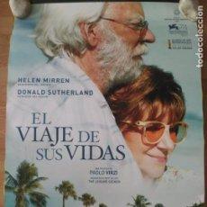 Cine: EL VIAJE DE SUS VIDAS - APROX 70X100 CARTEL ORIGINAL CINE (L61). Lote 136966958