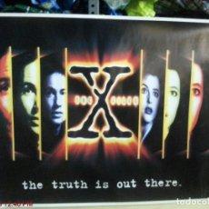 Cine: MUY RARO - EXPEDIENTE X ( THE X FILES ) (TÍTULO EN INGLÉS) - MUY RARO 98X69,5CM. Lote 137137858