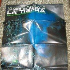 Cine: PÓSTER DE CINE ORIGINAL 70X100CM CAMPO DE BATALLA LA TIERRA. Lote 137199310