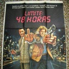 Cine: PÓSTER DE CINE ORIGINAL 70X100CM LÍMITE 48 HORAS. Lote 137199422