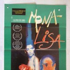 Cine: MONA LISA - POSTER CARTEL ORIGINAL - NEIL JORDAN HANDMADE PROD. GEORGE HARRISON BEATLES. Lote 137205742