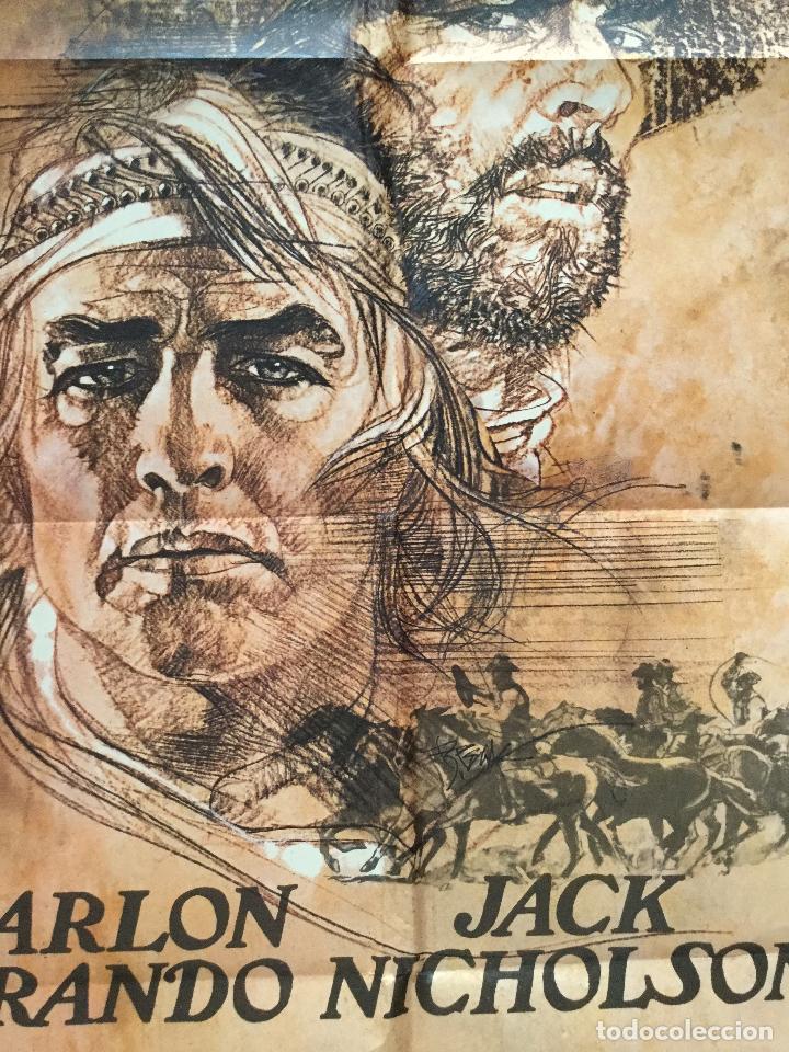 Cine: missouri - POSTER CARTEL ORIGINAL - marlon brando jack nicholson arthur penn - Foto 3 - 137208354