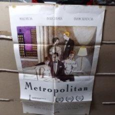 Cine: METROPOLITAN POSTER ORIGINAL 70X100 Q. Lote 137210788