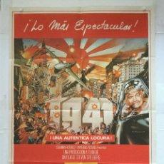 Cine: 1941 - POSTER CARTEL ORIGINAL - STEVEN SPIELBERG CHRISTOPHER LEE 2ª GUERRA MUNDIAL SUBMARINO. Lote 137210822
