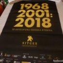 Cine: POSTER ORIGINAL(98CM X 68CM) 51 FESTIVAL DE CINE FANTASTICO Y TERROR DE SITGES 2018. Lote 137338230