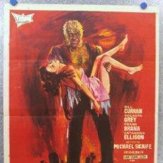 Cine: NECROPHAGUS, EL DESCUARTIZADOR DE BINBROOK. BILL CURRAN, YOCASTA GREY, FRANK BRANA. AÑO 1972. Lote 137340138