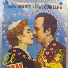 Cine: MIL AMORES. PEDRO INFANTE, ROSITA QUINTANA. AÑO 1958. Lote 137341634