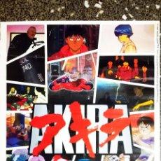 Cine: POSTER COLECCION Y DVD DE -AKIRA -DE 1987.POR SELECTA VISION 2004.TAMAÑO 70X48 CMS. Lote 137367030