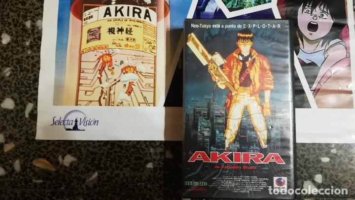 Cine: POSTER COLECCION Y DVD DE -AKIRA -DE 1987.POR SELECTA VISION 2004.TAMAÑO 70X48 CMS - Foto 2 - 137367030