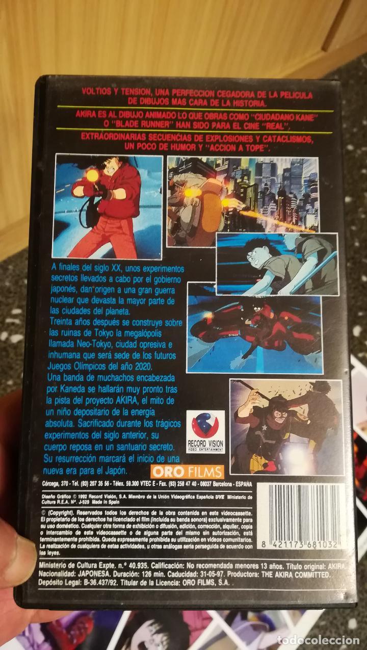 Cine: POSTER COLECCION Y DVD DE -AKIRA -DE 1987.POR SELECTA VISION 2004.TAMAÑO 70X48 CMS - Foto 4 - 137367030