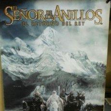 Cine: EL SEÑOR DE LOS ANILLOS ( JINETES ) 90CMX64CM. Lote 137377286