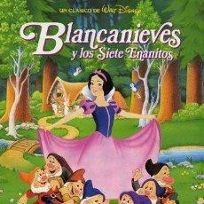 Cine: BLANCANIEVES Y LOS SIETE ENANITOS 100X70CM. Lote 137432278