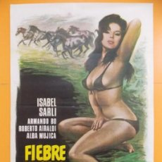 Cine: CARTEL, POSTER CINE - ORIGINAL - PELICULA: FIEBRE SEXUAL - AÑO 1978... A168. Lote 137509826