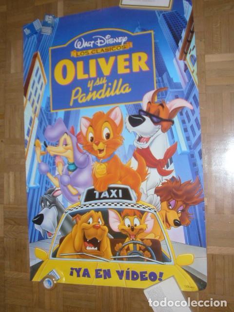 CARTEL DE LA PELICULA: OLIVER Y SU PANDILLA (69X96 CM) (Cine - Posters y Carteles - Infantil)