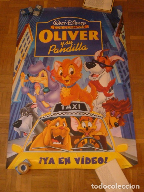 Cine: CARTEL DE LA PELICULA: OLIVER Y SU PANDILLA (69X96 CM) - Foto 3 - 137540162