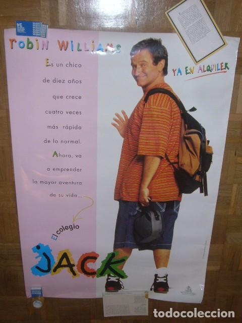 CARTEL DE LA PELICULA: JACK (ROBIN WILLIAMS) (70X100 CM) (Cine - Posters y Carteles - Infantil)