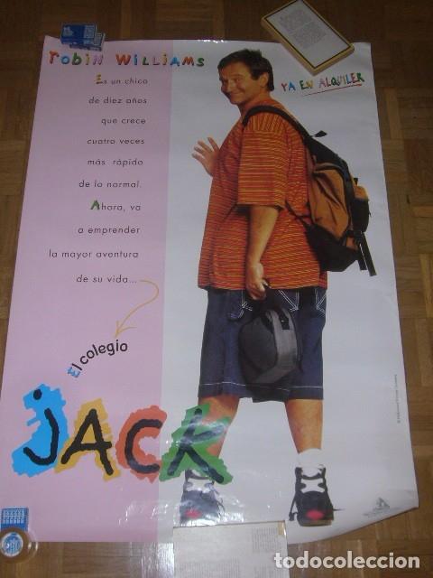 Cine: CARTEL DE LA PELICULA: JACK (ROBIN WILLIAMS) (70X100 CM) - Foto 2 - 137540862