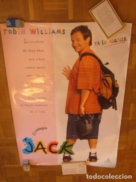 Cine: CARTEL DE LA PELICULA: JACK (ROBIN WILLIAMS) (70X100 CM) - Foto 4 - 137540862