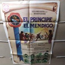 Cine: EL PRÍNCIPE Y EL MENDIGO CHARLTON HESTON POSTER ORIGINAL 70X100 YY (1938). Lote 137553104