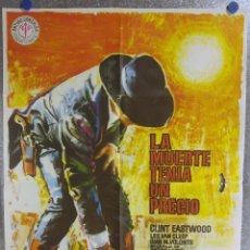 Cine: LA MUERTE TENIA UN PRECIO. CLINT EASTWOOD, LEE VAN CLEEF. AÑO 1978. Lote 137569558