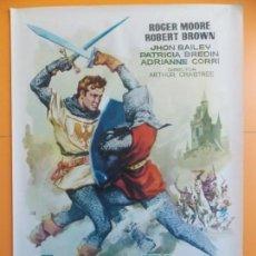 Cine: CARTEL, POSTER CINE - ORIGINAL - EL TORNEO DE LOS VALIENTES, (IVANHOE) - 1961... A175. Lote 137616978