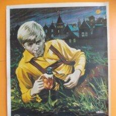 Cine: CARTEL, POSTER CINE - ORIGINAL - EL SOÑADOR AVENTURERO - AÑO 1976 ... A180. Lote 137709486