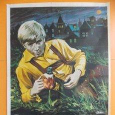 Cine: CARTEL, POSTER CINE - ORIGINAL - EL SOÑADOR AVENTURERO - AÑO 1976 ... A181. Lote 137709618