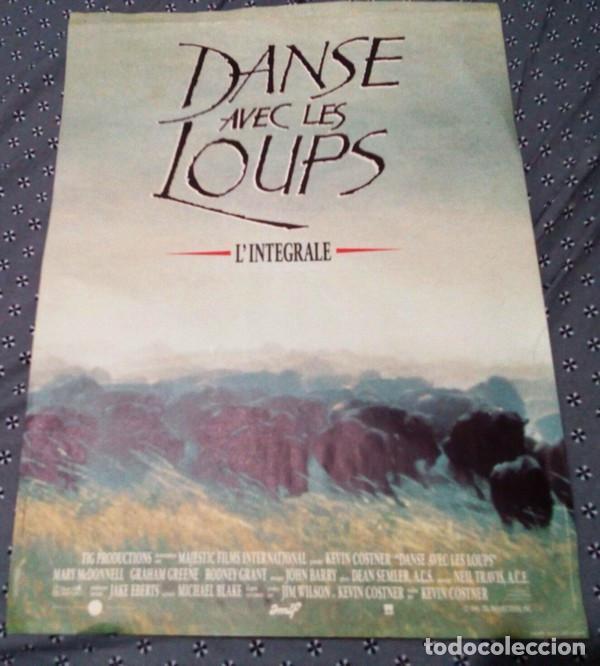 KEVIN COSTNER.BAILANDO CON LOBOS.VERSION INTEGRAL.1990. (Cine - Posters y Carteles - Westerns)
