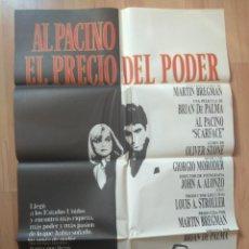 Cine: E-POSTER DE LA PELICULA MAS LA GUIA -- EL PRECIO DEL PODER AL PACINO. Lote 138007274