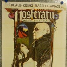 Cine: NOSFERATU. KLAUS KINSKI, ISABELLE ADJANI. AÑO 1979. Lote 138010510